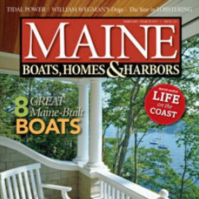 Adventuress Featured in Maine Boats, Homes, & Harbors