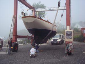 43′ Sparkman & Stephens Yawl   Rockport Marine
