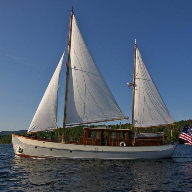 62′ John Alden Motor Sailor