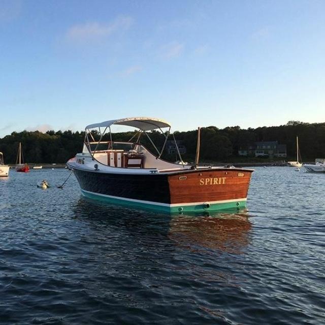 24′ Brownell/Eldredge McInnis Bassboat