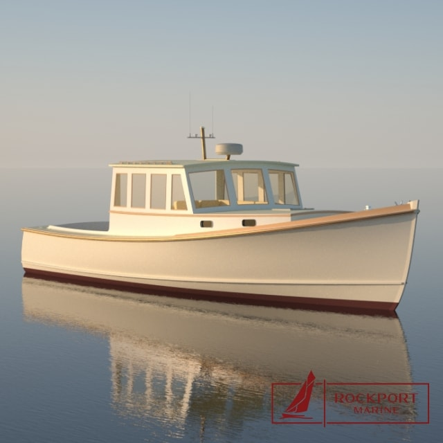 Rockport Marine 40 Lobster Yacht