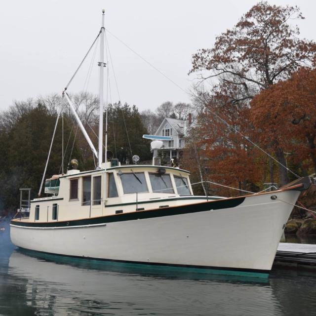 50′ Joel White Downeast Cruiser
