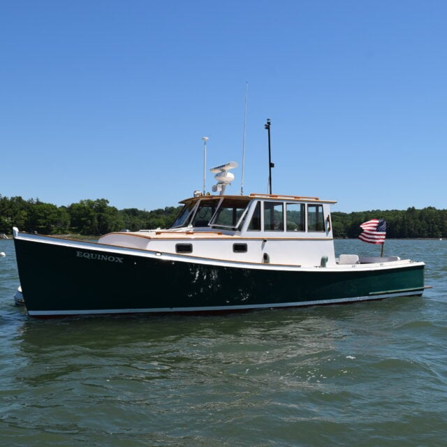 35′ Carroll Lowell / Peter Kass Lobsterboat
